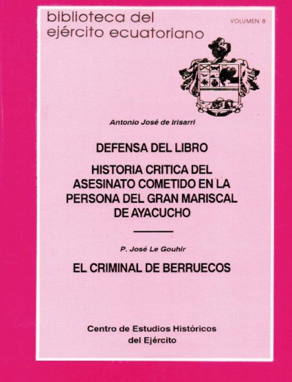 Historia Crítica del gran asesinato del Mariscal de Ayacucho