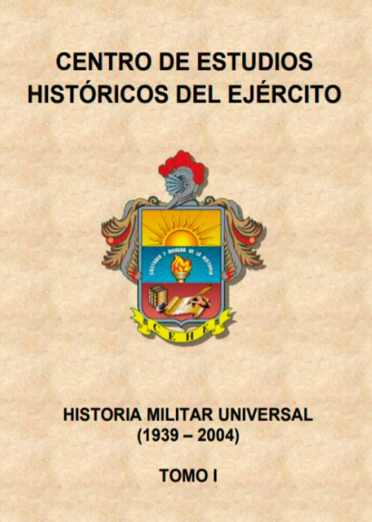 Historia Militar Universal TOMO I