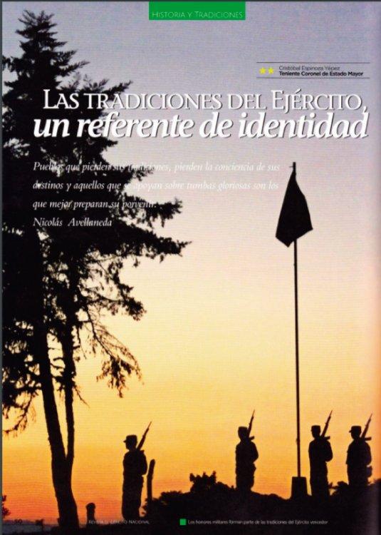 Las Tradiciones Militares del Ejército Ecuatoriano