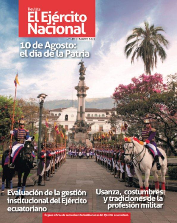 Revista Ejército Nacional 192
