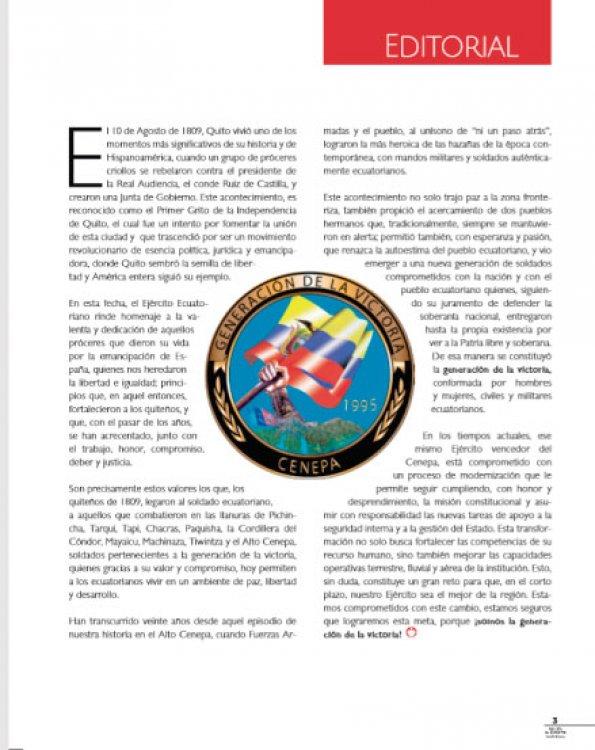 Revista Ejército Nacional 199